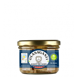 White tuna - Bonito del Norte fillets in organic pickled sauce (escabeche) 190 g / 12 uds.